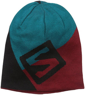 Salomon Flatspin Reversible Beanie Blue Steel