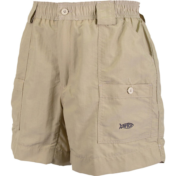 AFTCO M01 Men's Original Fishing Short Khaki