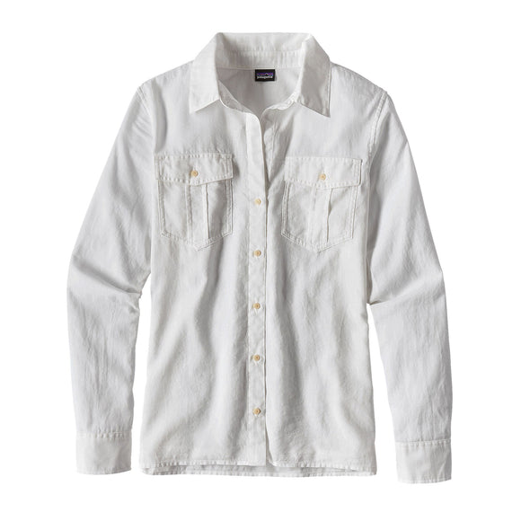Patagonia Women's Lightweight A/C Buttondown Shirt - White