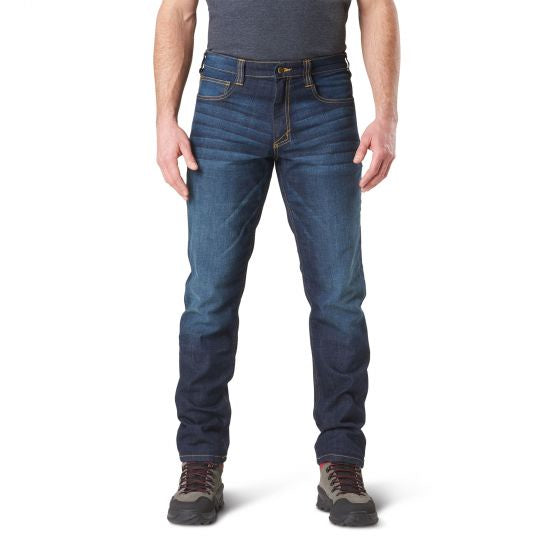 5.11 Men's Defender-Flex Slim Jean - Dark Wash  Indigo - Trailside Outfitter