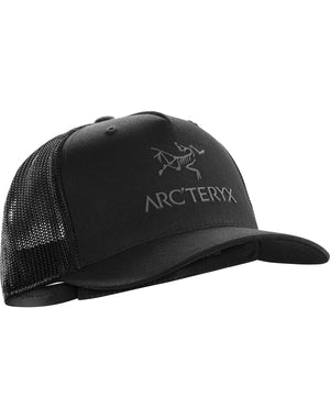 Arc'Teryx Logo Trucker Hat / Black