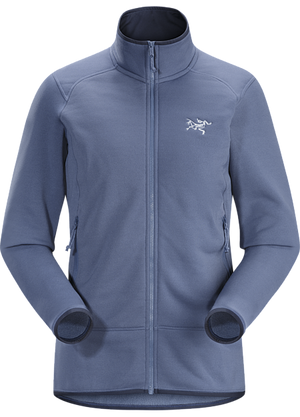 Arc'Teryx Women's Kyanite  Fleece Jacket - Nightshadow - Trailside Outfitter