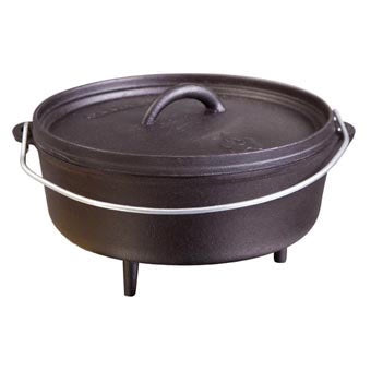 "Camp Chef Cast Iron Dutch Oven 4 qt - 10"" - Trailside Outfitter"