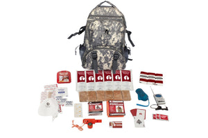 1 Person Survival Kit (72+ Hours) CAMO - Trailside Outfitter
