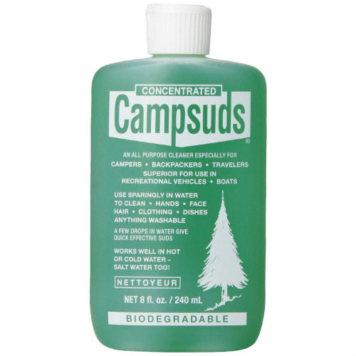 Campsuds Biodegradable Soap 8 oz - Trailside Outfitter