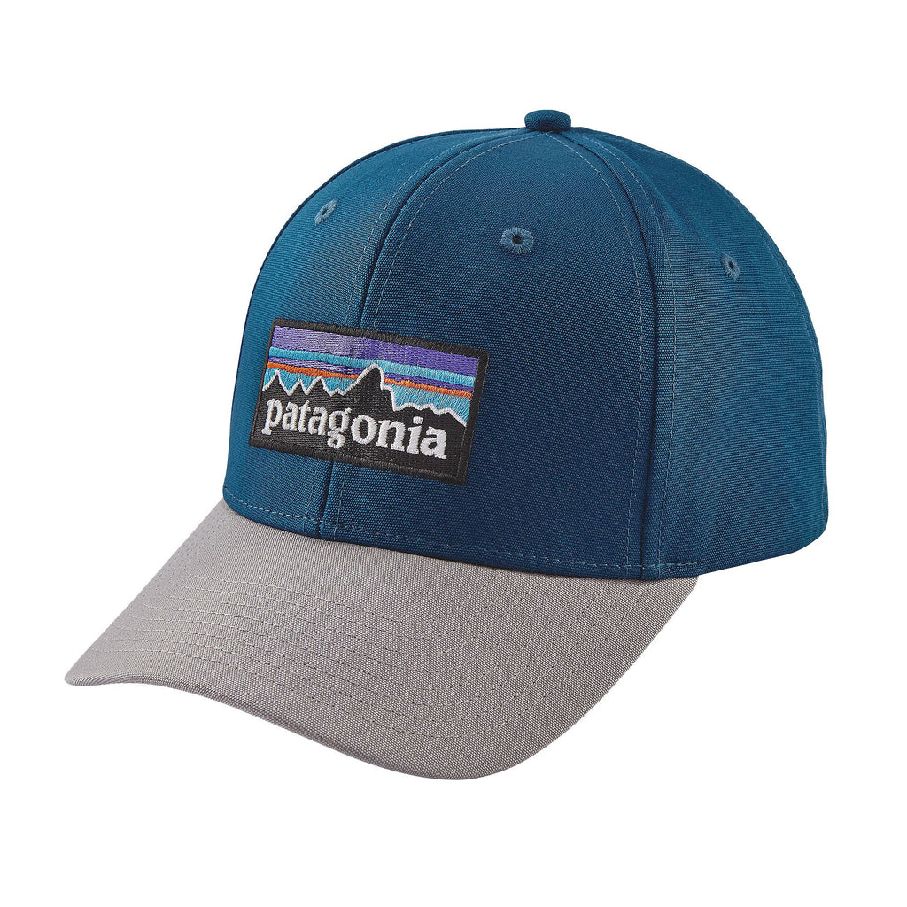Patagonia P-6 Logo Roger That Hat Big Sur Blue