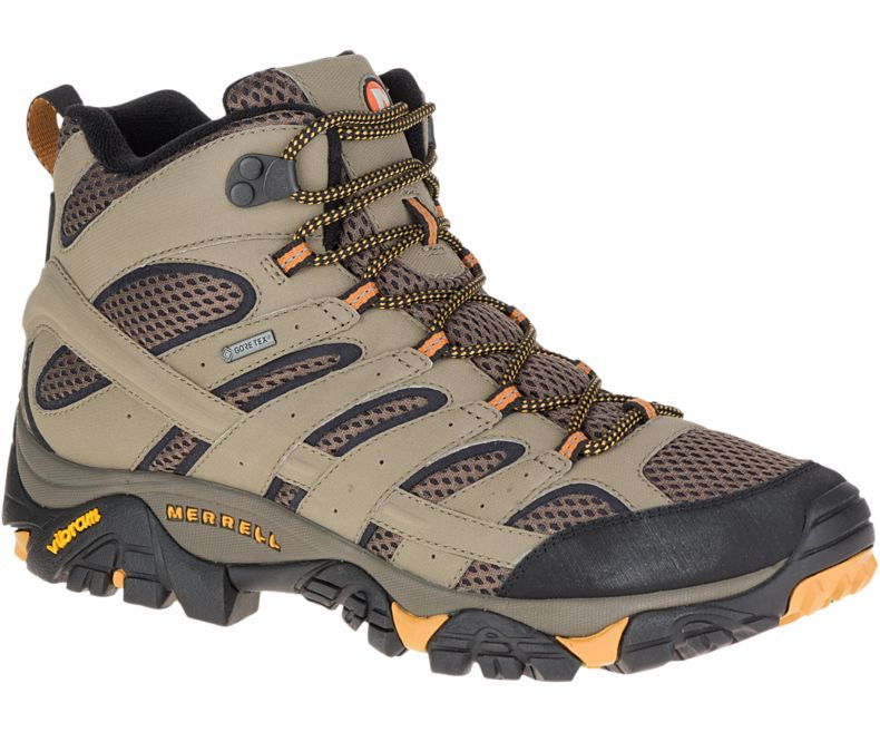 Merrell Men's Moab 2 Mid GORE-TEX Walnut