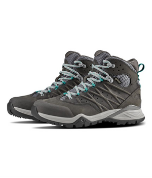 The North Face Women's Hedgehog Hike II Mid GTX - Q Silver Gray/Green