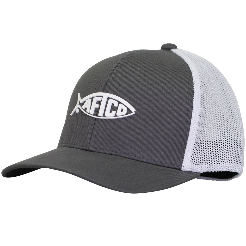 AFTCO Radiant Hat Charcoal Flexfit - Trailside Outfitter
