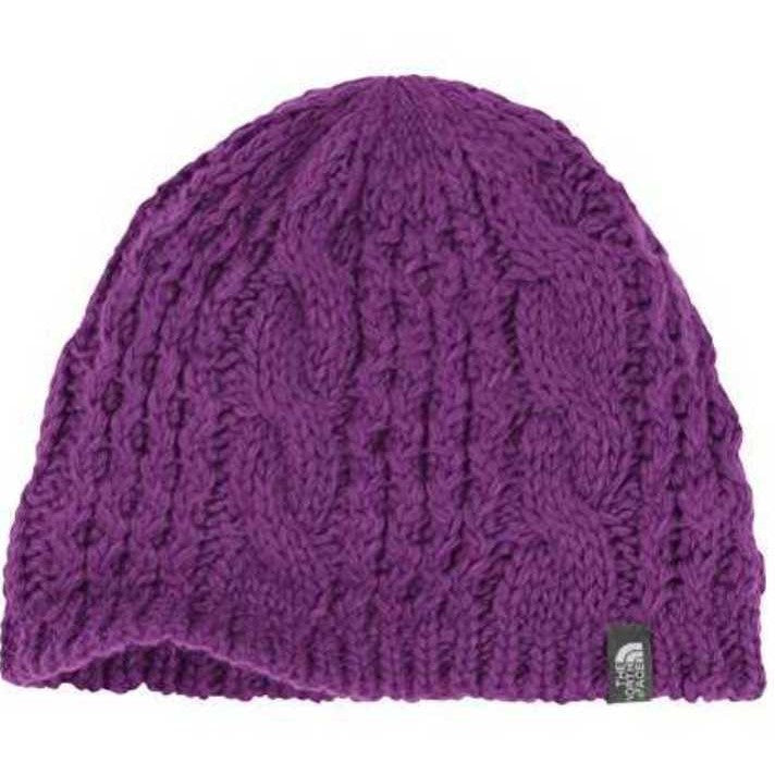 The North Face Women s Cable Minna Beanie Gravity Purple – Trailside ... b66065983e5