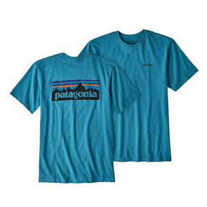 Patagonia Men's Short-Sleeved P-6 Logo Cotton T-Shirt