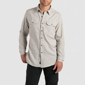 KUHL Men's Shiftr Button Front LS Shirt - Granite