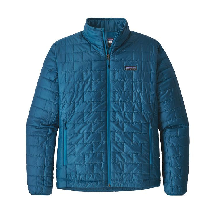 Patagonia Men's Nano Puff Jacket - Big Sur Blue