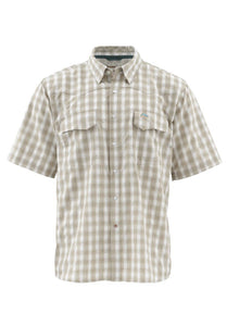 Simms Men's Big Sky SS Shirt - Cork Plaid