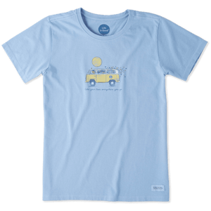 Life Is Good Women's Take Your Love Van Crusher Tee