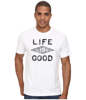 Men's Life is Good Crusher Life is Good 94 Cloud White