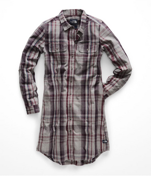 The North Face Campridge Dress - Galaxy Purple/Barrows Plaid