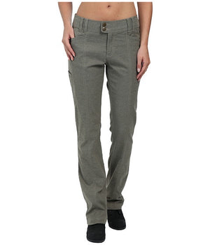 Royal Robbins Women's Herringbone Discovery Strider Pant Everglade