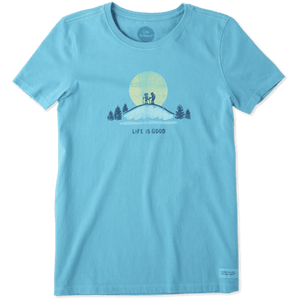 Life Is Good Women's Hike Vista Crusher Tee