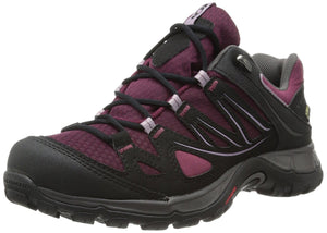 Salomon Women's Ellipse GTX Bordeaux/Black/Crocus Purple