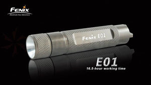 Fenix E01 Max 13 Lumens Flashlight Olive - Trailside Outfitter
