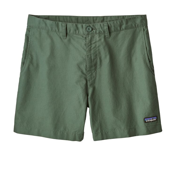 "Patagonia Men's Lightweight All Wear Shorts 6"" Inseam Pesto"