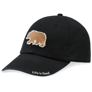 Life is Good A Tattered Chill/Wanderer Bear Hat