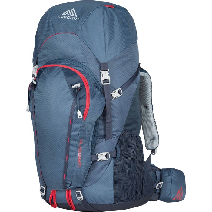 Gregory Wander 70 Backpack - Blue/Red