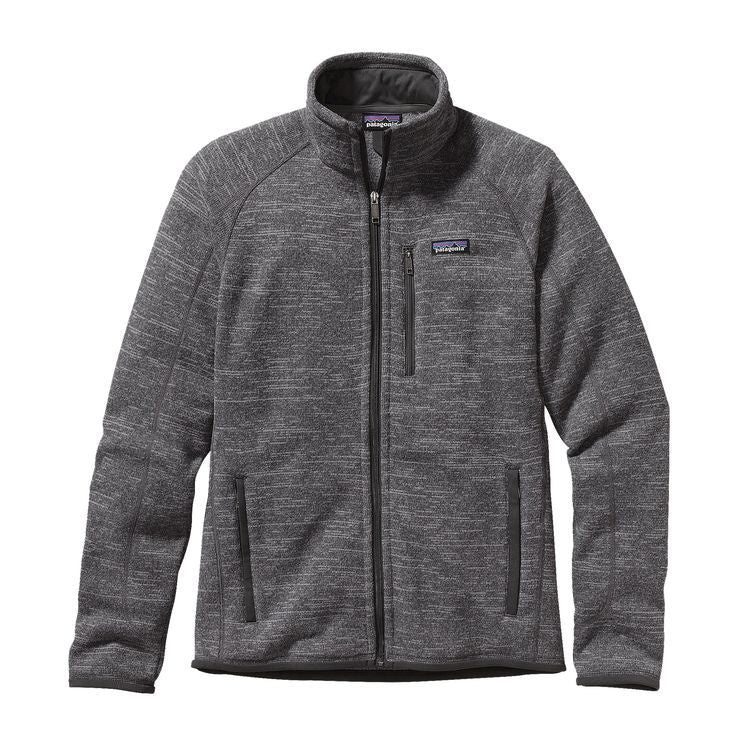 Patagonia Men's Better Sweater Fleece Jacket Nickel/Forge Grey