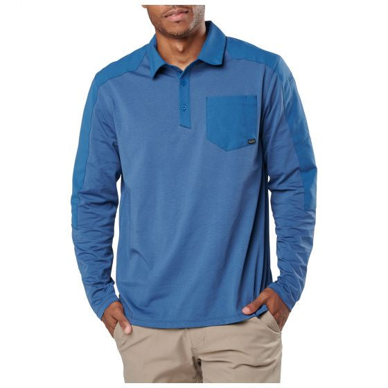 5.11 Tactical Men's Artillery Long Sleeve Polo - Trailside Outfitter