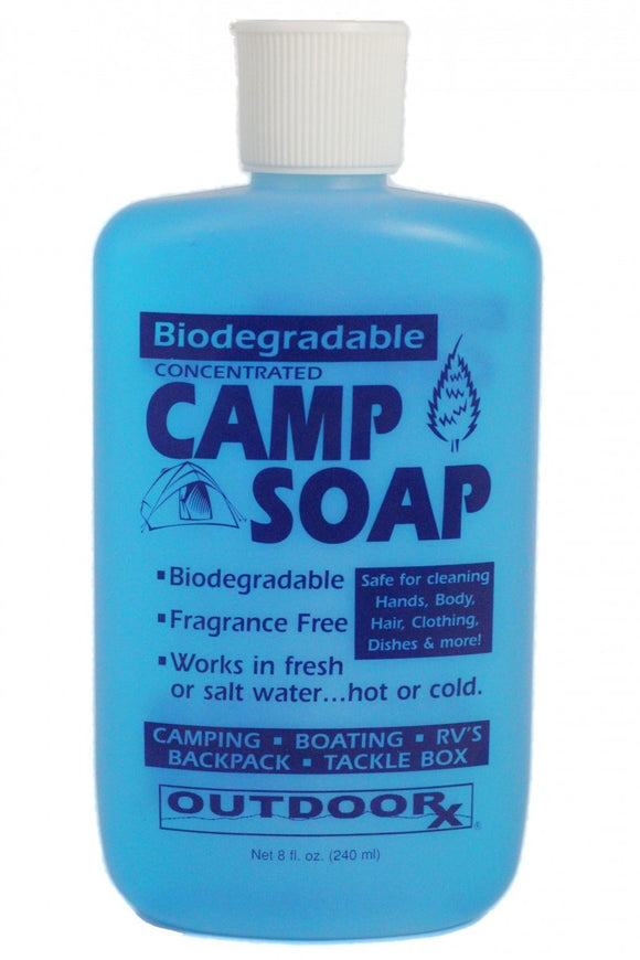 Outdoor RX Biodegradable Camp Soap 8 fl.oz