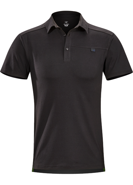 Arc'teryx Men's Captive SS Polo Black - Trailside Outfitter