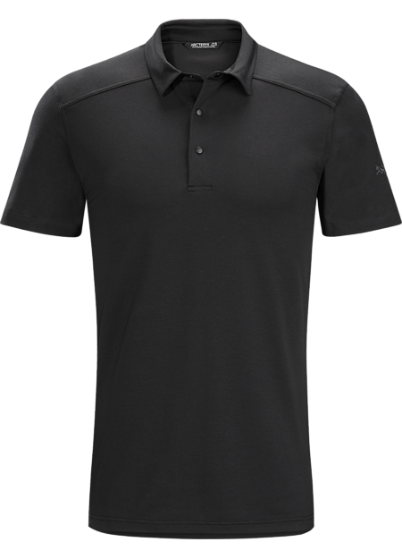 Arc'teryx Men's Chilco Polo Shirt - Black