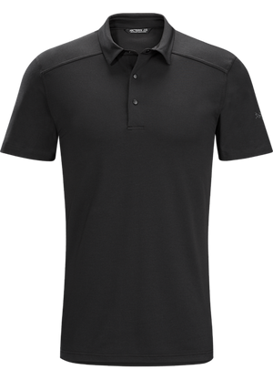 Arc'teryx Men's Chilco Polo Shirt - Black - Trailside Outfitter