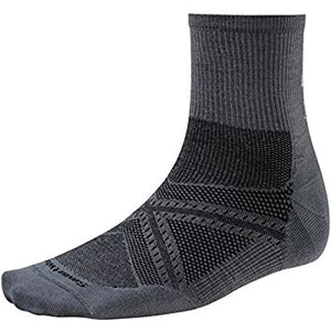 Smartwool Men's PhD® Run Ultra Light Mid Crew Socks
