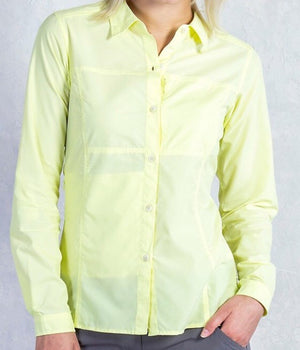 Exofficio Women's Lightscape LS Shirt - Pear - Trailside Outfitter