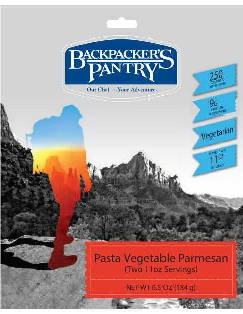 Backpacker's Pantry Pasta Vegetable Parmesan