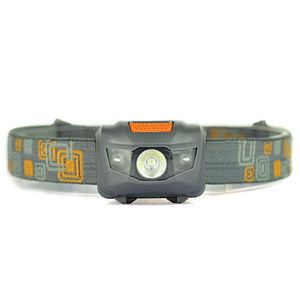 Waterproof Headlamp Power by 3*AAA Battery Camping Hiking Headlight 1000 Lumens LED