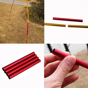 Aluminum Outdoor Emergency Repair Tool Tent Rod Pipe - Trailside Outfitter