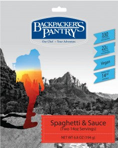 Backpacker's Pantry Spaghetti & Sauce - Trailside Outfitter