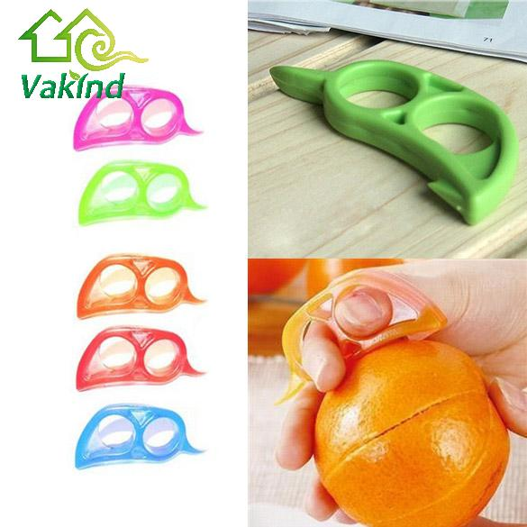 Useful Opener Fruit Orange Peeler Scaler Cutter Remover Kitchen Accessories Cooking Tool