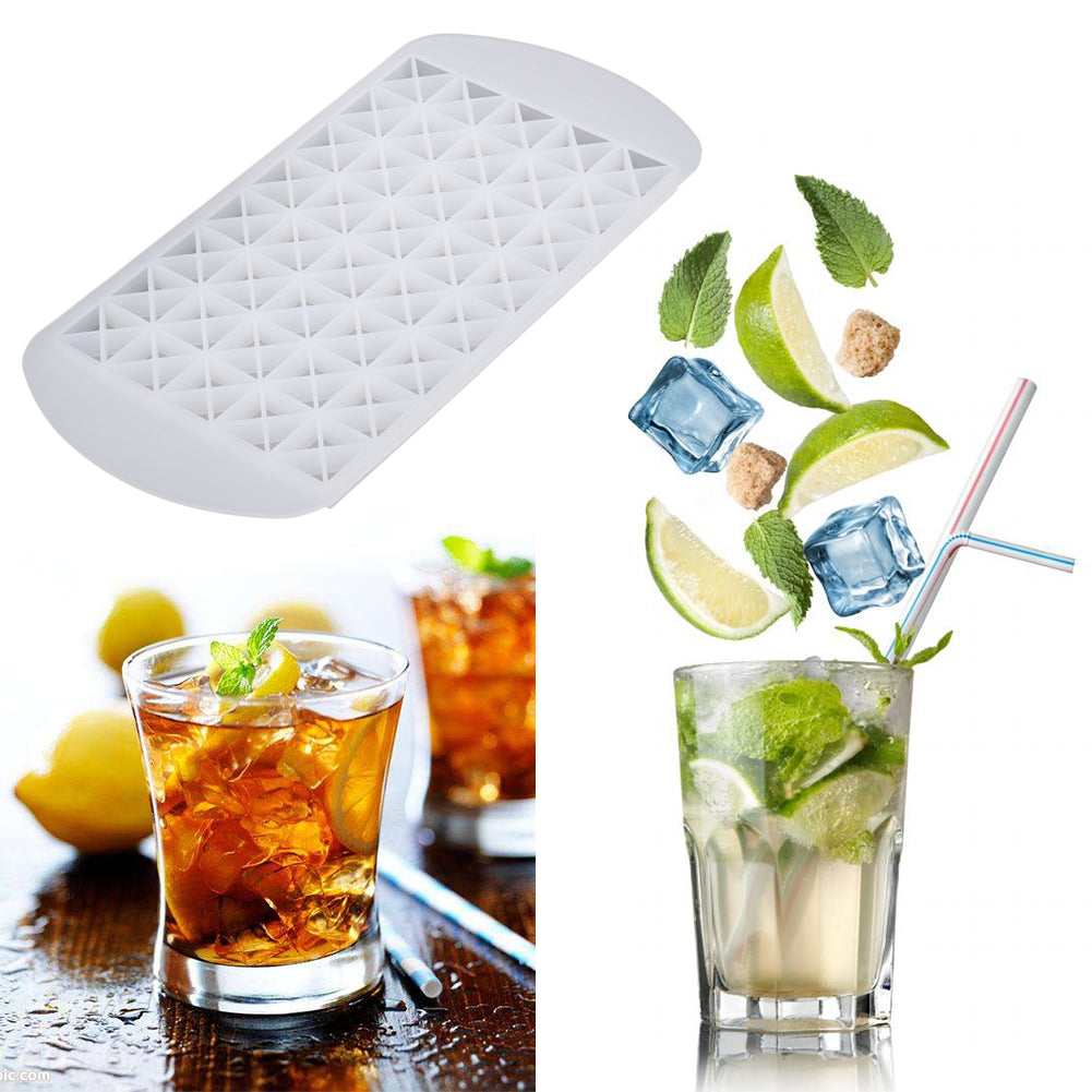 160 Grids Small Ice Cube Ice Cream Mold DIY Whiskey Cocktail Silicone Ice Tray Ice Cream Maker Bar Kitchen Cooking Tool