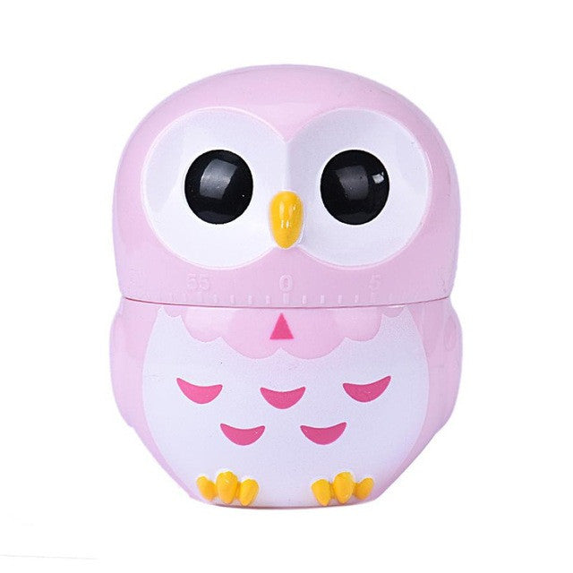 Owl Timer Kitchen 60 Minute Cooking Mechanical Home Decoration ##