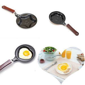 Cooking Milk Frother Eggs Hand 2015 New Promotion Healthy Nonstick Stainless Steel Frying Pan Eco Fry Skillet Free Shipping