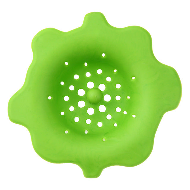 Silicone Kitchen Sink Strainer Filter Round Sewer Drain Cover Waste Stopper Kitchen Accessories Cooking Tools Gadgets
