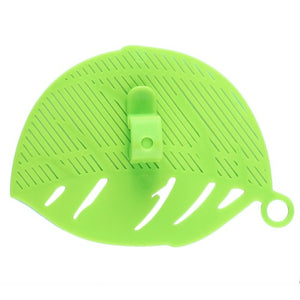 2017 New 1Pc Durable Clean Leaf Shape Rice Wash Tool Sieve Beans Peas Soybean Mungbean Cleaning Gadget Kitchen Clips Tools