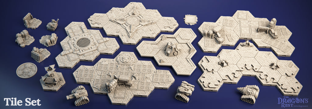 The Awakening Tile Set