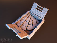 Trap Door With Stairs Down