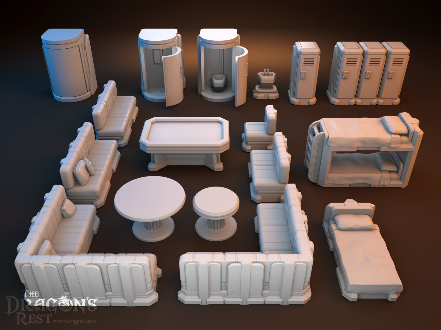 Sci-Fi Scatter - Barracks Items