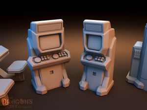 Sci-Fi Scatter - Canteen Items